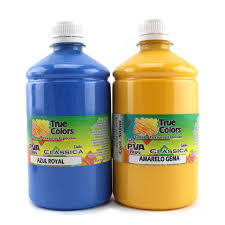 Super Tinta PVA para Artesanato Fosca 500ml Cores Escuras - True Colors  &VS67