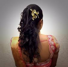 marriage bridal hairstyle indian bride u0027s bridal reception hairstyle by swank studio find us