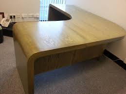 Curved Office Desk Popular Curved Office Desk Throughout Home Design Ideas And