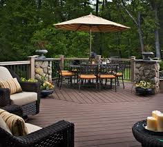 Patios And Decks For Small Backyards by Exteriors Astonishing Backyard Deck Design Ideas With Round Mini