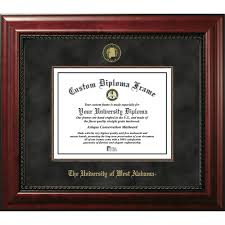 of alabama diploma frame of west alabama diploma frames diploma display ocm