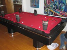 Craigslist Pool Tables Olhausen Pool Table Makeover Dk Billiards U0026 Service Orange