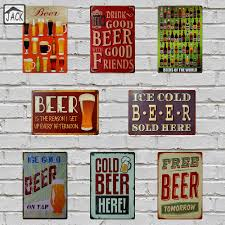 posters drinks promotion shop for promotional posters drinks on drink good beer with good friend free beer metal tin sign pub home gallery poster vintage plaque man cave wall decor plate