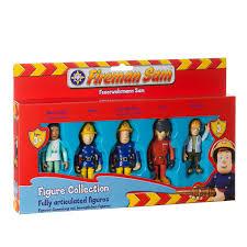 u0026m fireman sam fully articulated figure collection 246394 u0026m