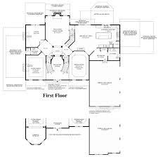 Charleston Floor Plan by Trotters Glen The Henley Home Design
