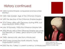Ottoman Empire Facts Turkey