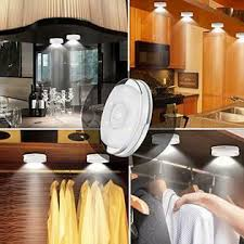 battery led lights for kitchen cabinets altrolux led puck lights wireless cabinet lighting