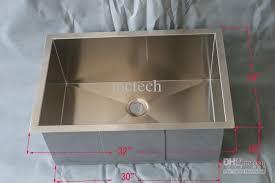 Single Undermount Kitchen Sink by 2017 32 Stainless Steel Square Single Bowl Undermount Kitchen Sink