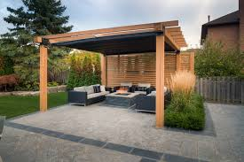 Pergola Shade Covers by Modern Retractable Pergola Crowdbuild For