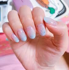 gradiation color gel manicure by witch nails u2013 reko
