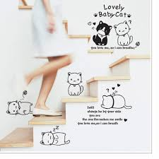 wallpaper snowman picture more detailed about diy cute diy cute couple cat wall decals sticke art mural wallpaper for the room decal home decoration