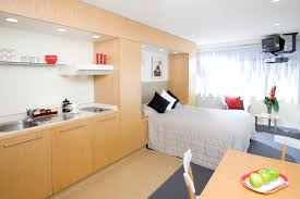 Efficiency Small Apartment Interior Binnenschiffecom - Small studio apartment design ideas