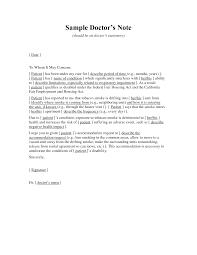 cover letter medical note sample medical sick note sample medical