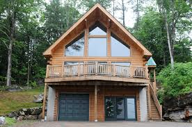hillside cabin plans hillside log home plans homepeek