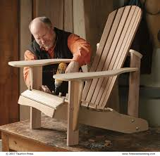 Build An Adirondack Chair How To Make Outdoor Furniture Finewoodworking