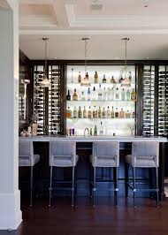 Home Bar Interior Design by Modern Home Bar Design In White Architecture Pinterest Bar