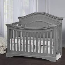 Top Rated Convertible Cribs by Evolur Adora Curve Top Collection Convertible Crib Storm Grey