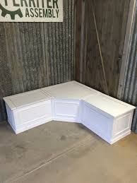 Build Corner Storage Bench Seat by Bench Build Corner Storage Seat Woodworking Plans Amp Project With