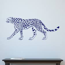 leopard big cat wall sticker world stickers leopard big cat wall sticker decal
