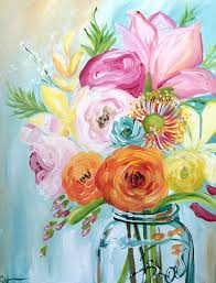 spring painting ideas vera bradley breast cancer fundraiser at painting with a twist