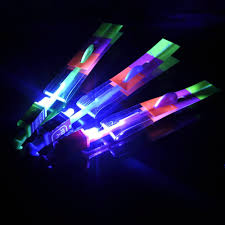 Amazing Light by Amazon Com 10pcs Amazing Flying Toy Led Arrow Helicopter Copter