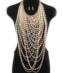 gold chain bib necklace images 119 best statement necklace images costume jewelry jpg