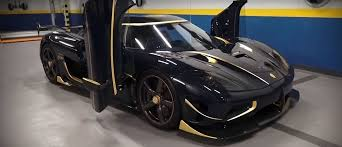 koenigsegg agera rs shmee150 shows the daily driver side of gold trimmed koenigsegg