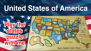 State Map Games by United States Of America Puzzle 50 States Of America Come On