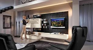 Wohnzimmer Vorwand Mit Deko Nische Moderne Wohnzimmerwand Haus Design Ideen