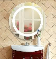silver bathroom led mirror light mirror led lamp modern wall