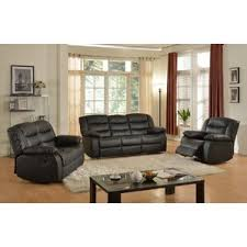 Reclining Living Room Sets Youll Love - Three piece living room set