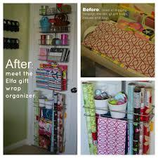 Organize Gift Wrap - project gift wrap elfa organizer busy miss b