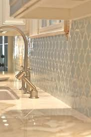 blue tile kitchen backsplash interior looooove that backsplash and the white countertops tile ideas