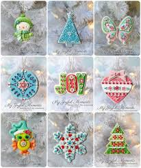 handcrafted polymer clay ornaments collection by miller