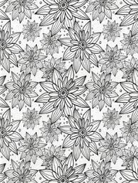 pretty coloring sheet adults flower medallion pattern