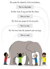 Blind Man And Elephant The Elephant Speaks Adam4d Com