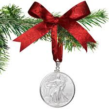 buy 2018 american silver eagle coin ornament with
