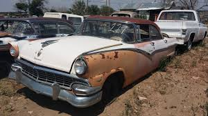 Old Ford Truck Junkyard - a 1 auto salvage to hold auction then close old cars weekly