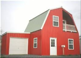 gambrel garage insulated galvanized steel gambrel building kit cabin can add
