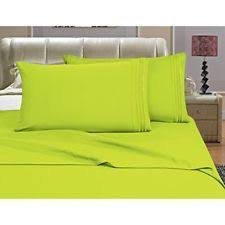 Bright Green Comforter Lime Green Sheets Ebay