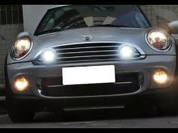 mini cooper led rally lights with daytime running light and