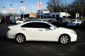 lexus white 2007 lexus es350 white used sport sedan sale