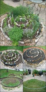 how to create a small vegetable garden using spiral best gardens