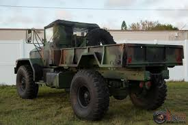 old military vehicles kaiser jeep m54a2 military multifuel 5 ton bobbed m35 4x4 super