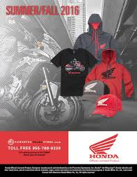 american honda motor co inc summer fall 2016 powertex honda store catalog by powertex group
