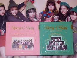 autographed a follow up album merry happy cd photobook ebay
