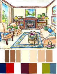 add color to a beige room with accessories fred gonsowski
