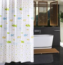 Blue And Yellow Shower Curtains Rubihome Shower Curtain For Bathroom Peva Thicken Waterproof Decor