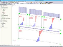 design of deep beams in rfem dlubal software