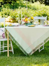 weave tablecloth attic sale linens kitchen attic